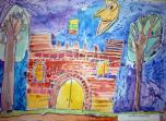 """Ikimokyklinio ugdymo įstaigų """"Žilvitis"""" piešinių paroda  """"Lietuva – šalelė mano"""" Karmėlavoje"""