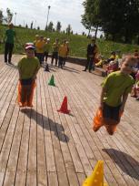 """Pasvalio lopšelio-darželio """"Eglutė"""" priešmokyklinukai aktyviai leido laiką vasaros stovykloje"""