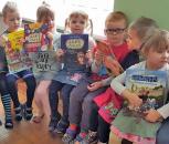 Vaikai rinko skaitomiausią grupės knygą