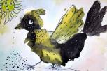 Piešinių konkurse vaikai paukščius pateikė naujomis spalvomis