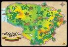 """Dėlionė """"Lietuvos žemėlapis"""""""