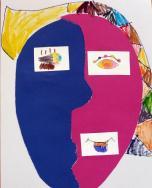 Garsių XX a. modernistų tapyba nukėlė vaikus į formų, linijų ir spalvų pasaulį