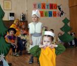 Teatro dienos apjungė darželio bendruomenę
