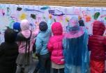 """Lauko edukacinių erdvių pristatymas Vilniaus lopšelyje-darželyje """"Pipiras"""""""
