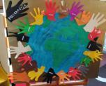 Tolerancijos dieną vaikai aptarė, ką gali rankos