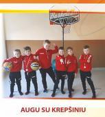 """Leidinys """"Augu su krepšiniu"""" padės integruoti krepšinį į ikimokyklinukų ugdymą"""