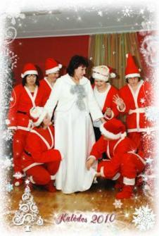 """Kalėdinė pasaka Šakių rajono vaikų lopšelyje-darželyje """"Klevelis"""""""