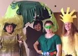 Teatro dieną – vaikams skirtas pedagogų spektaklis