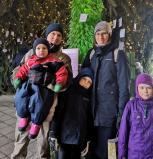 Ką veikti su vaikais lauke – vilniečių šeima rado atsakymus ir atsisakė minties keltis į kaimą