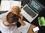 Nuotolinis mokymas ir mokymasis: kaip nepervargti?
