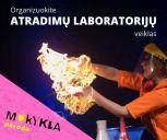 """Kviečiame dalyvauti """"Atradimų laboratorijų"""" veiklų organizatorių atrankoje"""
