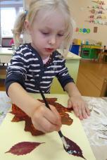 Ruduo – tinkamiausias metas vaikų pažinimui ir meninei raiškai skatinti