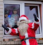 Padėjo vaikams patikėti Kalėdų stebuklu