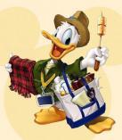 """""""Ančiukas Donaldas iškylauja"""" - surask 10 skirtumų"""