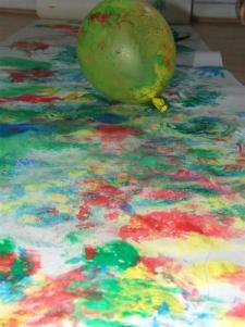 Piešimas su balionais