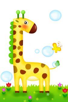 """Žirafa"" - surask 4 skirtumus"