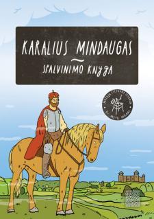 Spalvinimo knyga. Karalius Mindaugas