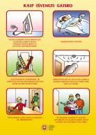 Kaip išvengti gaisro?