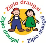 """Ugdymo įstaigos kviečiamos dalyvauti tarptautinėje programoje """"Zipio draugai"""""""
