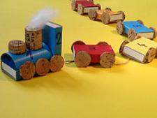 """Advento kalendorius """"Spalvotas traukinukas"""""""