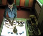 Šviesos stalas padeda atsiskleisti vaikų kūrybingumui